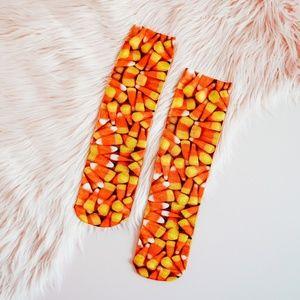 Living Royal Candy Corn Socks